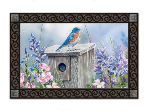"""Bluebird Lookout MatMates Doormat - 18"""" x 30"""""""