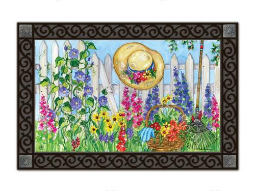 "Springtime Beauty MatMates Doormat - 18"" x 30"""