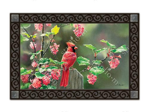 "Cardinal Beauty MatMates Doormat - 18"" x 30"""