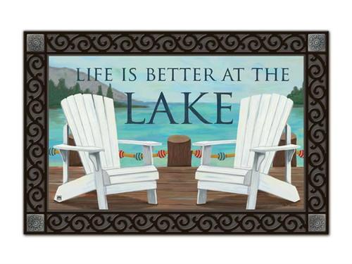 "Lake Life MatMates Doormat - 18"" x 30"""