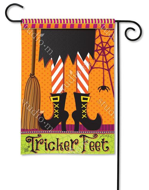 """Tricker Feet Garden Flag - 12.5"""" x 18"""" - BreezeArt"""