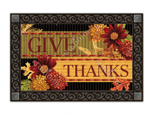 Thankful Turkey MatMates Doormat