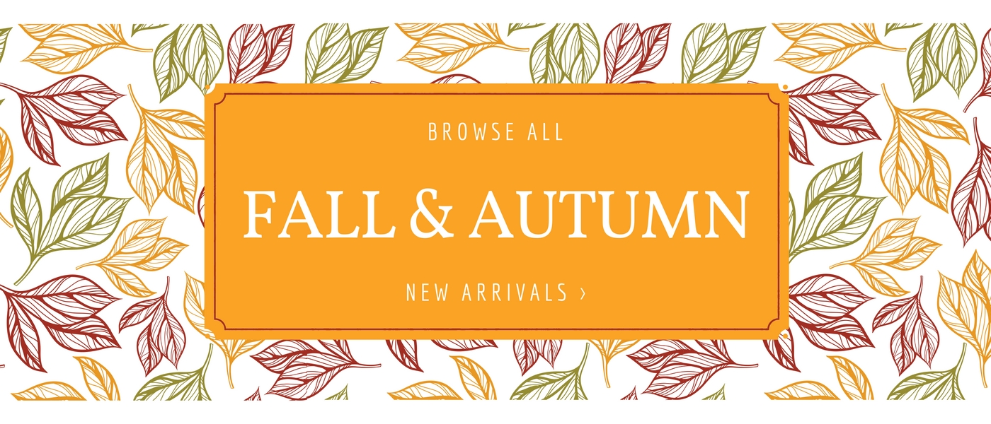 Shop Fall and Autumn New Arrivals
