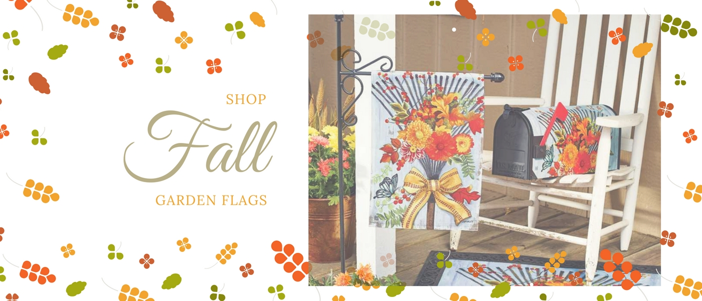 Shop Fall Garden Flags