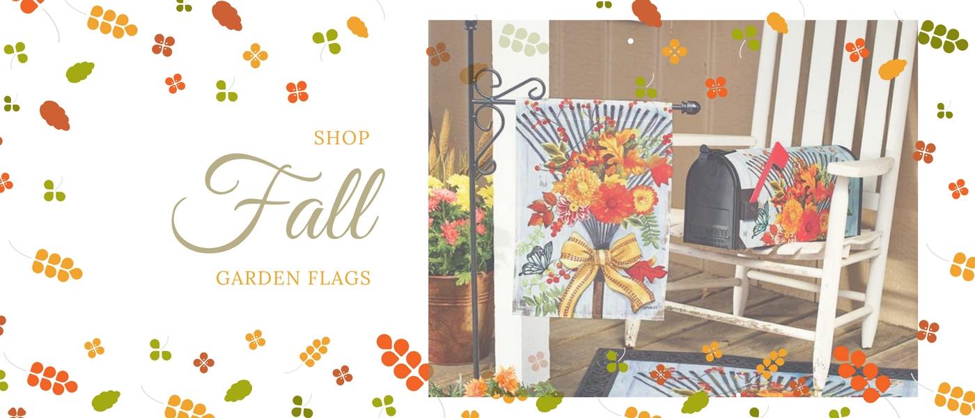 Shop Fall Garden Flags