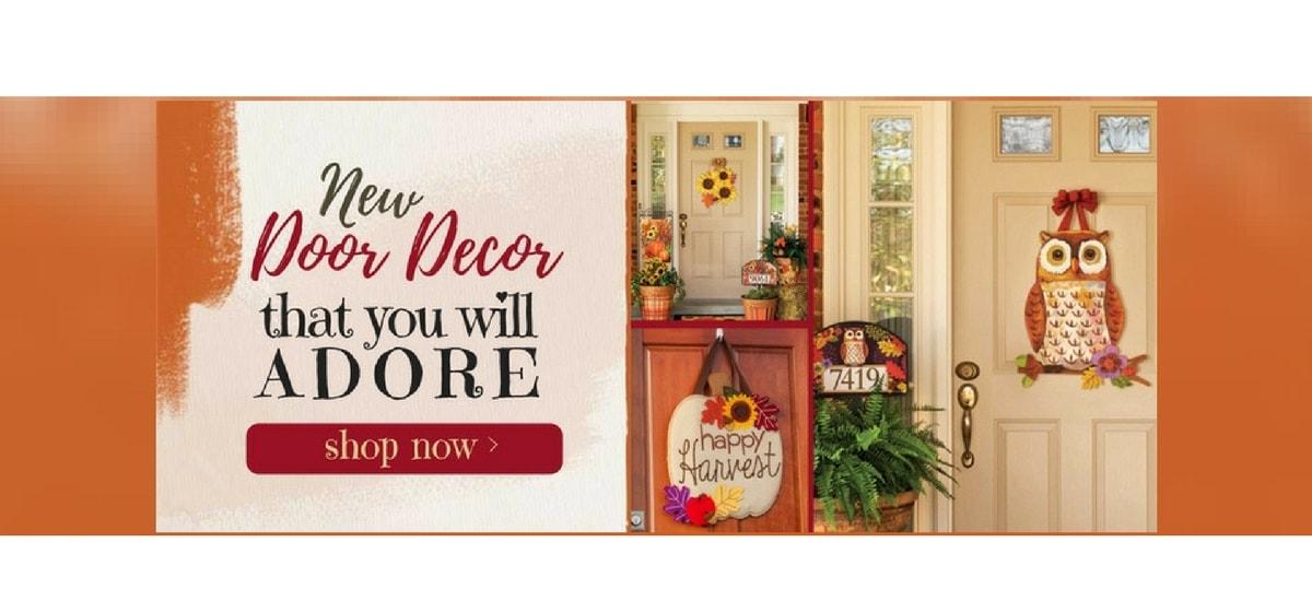 Fall Door Decor