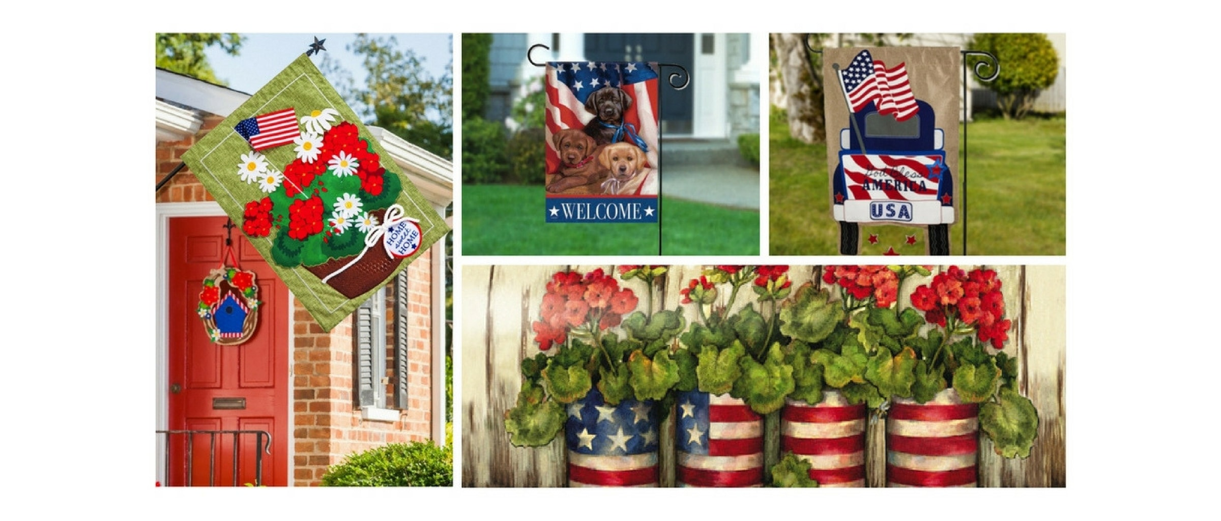 garden flags and decorative house flags - Decorative House Flags
