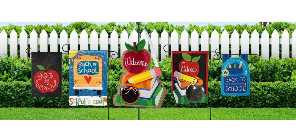 Shop Back to School Decor and Flags