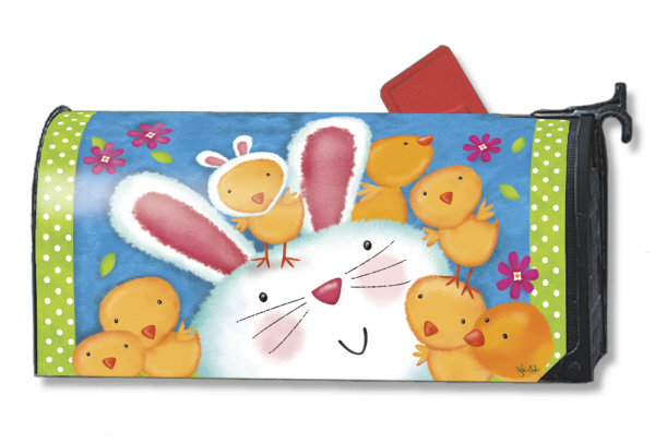 Bunny Wanna Be Mailwrap Mailbox Cover