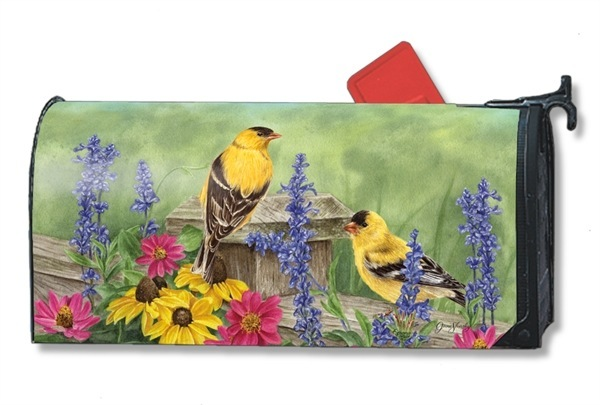 garden-finches-magnetic-mailbox-cover.jpg