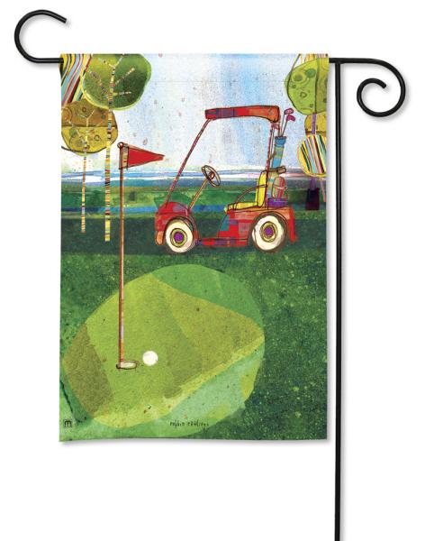 Par for the Course Decorative Garden Flag