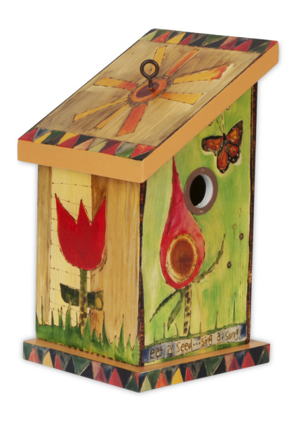 Seed & Song Birdhouse