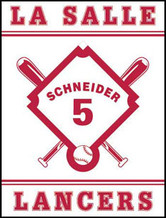 Personalized Baseball Flag - House Size 30 x 40