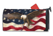 American Pride Mailwraps Magnetic Mailbox Cover