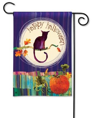 Halloween garden flag