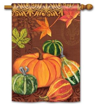 Autumn house flag