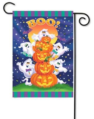 Toland Halloween garden flag