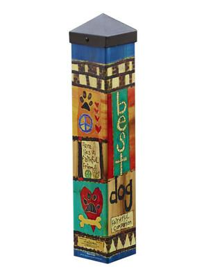 "Art Pole - 20"" tall"
