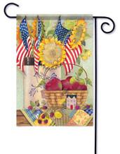 Decorative garden flag