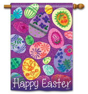 BreezeArt Easter House Flag