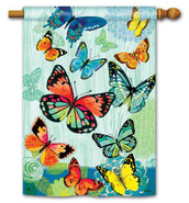 BreezeArt Decorative Outdoor House Flag