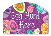 Easter Magnetic Yard Sign