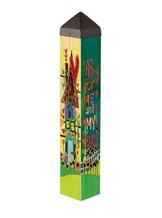 Art Pole by Stephanie Burgess - Studio M