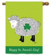 Toland St. Patrick's Day House Flag