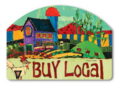 Buy Local Yard Sign