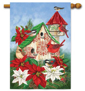 Outdoor decorative house flag