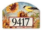 Home Address Sign