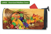 Bountiful Harvest LARGE Magnetic Mailbox Cover
