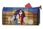 Nativity Mailwrap Mailbox Cover