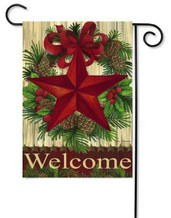 Christmas outdoor garden flag