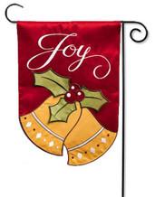 Applique Christmas Garden Flag