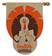Thanksgiving outdoor house flag