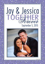 Personalized Wedding Photo Flag