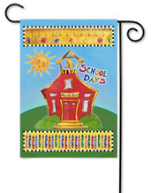 Toland Back to School Garden Flag