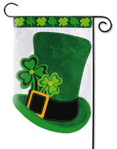 St. Patrick's Day Garden Flag - Evergreen