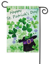 St. Pat's Garden Flag by Evergreen