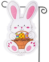 Easter garden flag - Evergreen