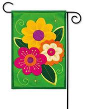 Felt Outdoor Garden Flag by Evergreen