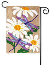 Burlap Garden Flag by Evergreen