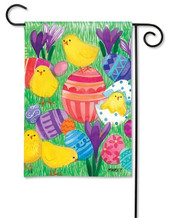 Easter Garden Flag - BreezeArt