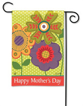 Mother's Day Garden Flag - BreezeArt