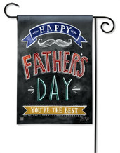 Father's Day Garden Flag - BreezeArt