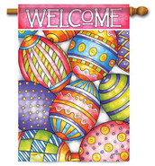 Easter House Flag - Flag Trends
