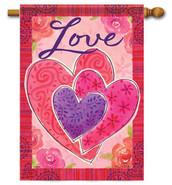 Valentine House Flag - Flag Trends
