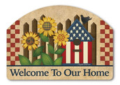 Welcome Yard Sign