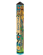 Custom Address Pole - Welcome 4' Pole